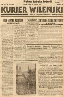 Kurjer Wileński wraz z Kurjerem Wileńsko-Nowogródzkim. 1937, nr267
