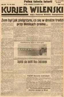 Kurjer Wileński wraz z Kurjerem Wileńsko-Nowogródzkim. 1937, nr269