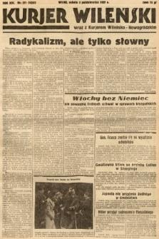 Kurjer Wileński wraz z Kurjerem Wileńsko-Nowogródzkim. 1937, nr271