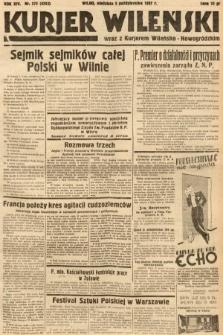 Kurjer Wileński wraz z Kurjerem Wileńsko-Nowogródzkim. 1937, nr272