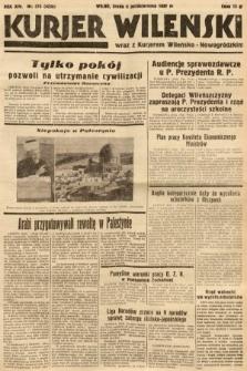 Kurjer Wileński wraz z Kurjerem Wileńsko-Nowogródzkim. 1937, nr275
