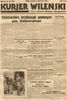 Kurjer Wileński wraz z Kurjerem Wileńsko-Nowogródzkim. 1937, nr276