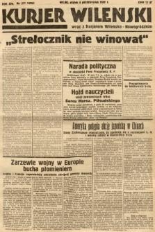 Kurjer Wileński wraz z Kurjerem Wileńsko-Nowogródzkim. 1937, nr277