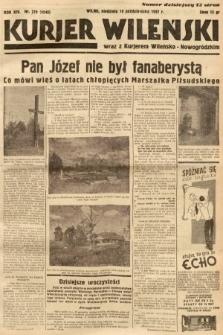 Kurjer Wileński wraz z Kurjerem Wileńsko-Nowogródzkim. 1937, nr279