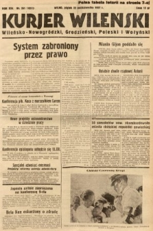 Kurjer Wileński, Wileńsko-Nowogródzki, Grodzieński, Poleski i Wołyński. 1937, nr291