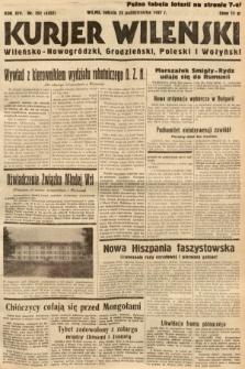 Kurjer Wileński, Wileńsko-Nowogródzki, Grodzieński, Poleski i Wołyński. 1937, nr292