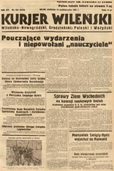 Kurjer Wileński, Wileńsko-Nowogródzki, Grodzieński, Poleski i Wołyński. 1937, nr293