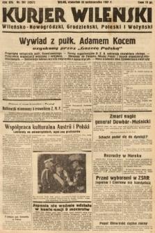 Kurjer Wileński, Wileńsko-Nowogródzki, Grodzieński, Poleski i Wołyński. 1937, nr297