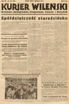 Kurjer Wileński, Wileńsko-Nowogródzki, Grodzieński, Poleski i Wołyński. 1937, nr302