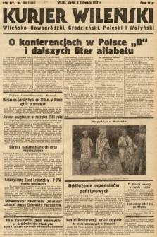 Kurjer Wileński, Wileńsko-Nowogródzki, Grodzieński, Poleski i Wołyński. 1937, nr304
