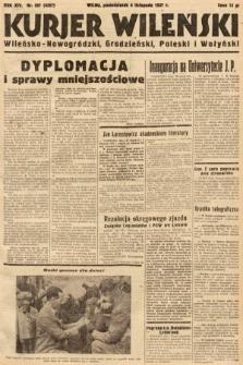Kurjer Wileński, Wileńsko-Nowogródzki, Grodzieński, Poleski i Wołyński. 1937, nr307