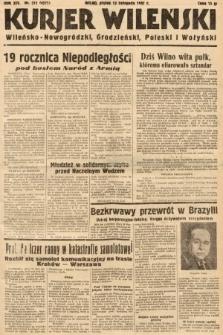 Kurjer Wileński, Wileńsko-Nowogródzki, Grodzieński, Poleski i Wołyński. 1937, nr311