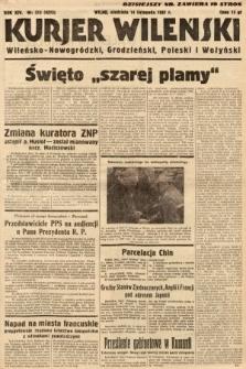 Kurjer Wileński, Wileńsko-Nowogródzki, Grodzieński, Poleski i Wołyński. 1937, nr313