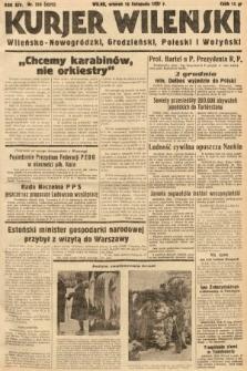 Kurjer Wileński, Wileńsko-Nowogródzki, Grodzieński, Poleski i Wołyński. 1937, nr315