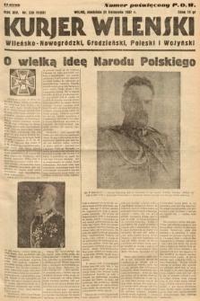 Kurjer Wileński, Wileńsko-Nowogródzki, Grodzieński, Poleski i Wołyński. 1937, nr320