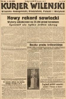 Kurjer Wileński, Wileńsko-Nowogródzki, Grodzieński, Poleski i Wołyński. 1937, nr324