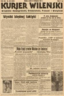 Kurjer Wileński, Wileńsko-Nowogródzki, Grodzieński, Poleski i Wołyński. 1937, nr325