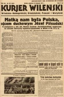 Kurjer Wileński, Wileńsko-Nowogródzki, Grodzieński, Poleski i Wołyński. 1937, nr327