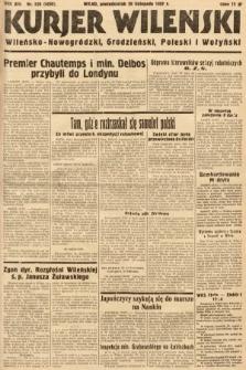 Kurjer Wileński, Wileńsko-Nowogródzki, Grodzieński, Poleski i Wołyński. 1937, nr328