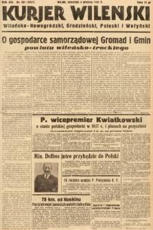Kurjer Wileński, Wileńsko-Nowogródzki, Grodzieński, Poleski i Wołyński. 1937, nr331