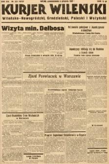Kurjer Wileński, Wileńsko-Nowogródzki, Grodzieński, Poleski i Wołyński. 1937, nr335