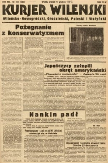 Kurjer Wileński, Wileńsko-Nowogródzki, Grodzieński, Poleski i Wołyński. 1937, nr343
