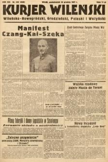 Kurjer Wileński, Wileńsko-Nowogródzki, Grodzieński, Poleski i Wołyński. 1937, nr349