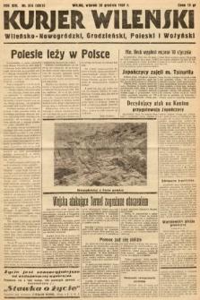 Kurjer Wileński, Wileńsko-Nowogródzki, Grodzieński, Poleski i Wołyński. 1937, nr355