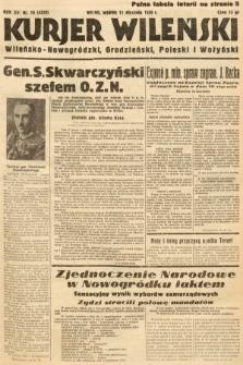 Kurjer Wileński, Wileńsko-Nowogródzki, Grodzieński, Poleski i Wołyński. 1938, nr10