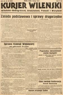 Kurjer Wileński, Wileńsko-Nowogródzki, Grodzieński, Poleski i Wołyński. 1938, nr32