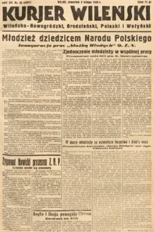 Kurjer Wileński, Wileńsko-Nowogródzki, Grodzieński, Poleski i Wołyński. 1938, nr33