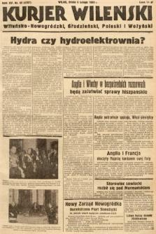 Kurjer Wileński, Wileńsko-Nowogródzki, Grodzieński, Poleski i Wołyński. 1938, nr39