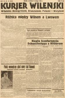 Kurjer Wileński, Wileńsko-Nowogródzki, Grodzieński, Poleski i Wołyński. 1938, nr43