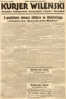 Kurjer Wileński, Wileńsko-Nowogródzki, Grodzieński, Poleski i Wołyński. 1938, nr51