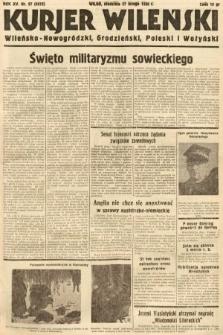Kurjer Wileński, Wileńsko-Nowogródzki, Grodzieński, Poleski i Wołyński. 1938, nr57