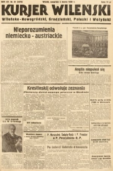 Kurjer Wileński, Wileńsko-Nowogródzki, Grodzieński, Poleski i Wołyński. 1938, nr61
