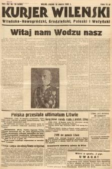 Kurjer Wileński, Wileńsko-Nowogródzki, Grodzieński, Poleski i Wołyński. 1938, nr76