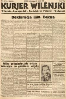 Kurjer Wileński, Wileńsko-Nowogródzki, Grodzieński, Poleski i Wołyński. 1938, nr79