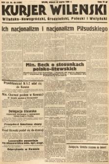 Kurjer Wileński, Wileńsko-Nowogródzki, Grodzieński, Poleski i Wołyński. 1938, nr80