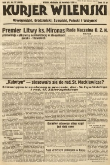 Kurjer Wileński, Nowogródzki, Grodzieński, Suwalski, Poleski i Wołyński. 1938, nr99