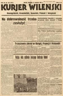 Kurjer Wileński, Nowogródzki, Grodzieński, Suwalski, Poleski i Wołyński. 1938, nr159