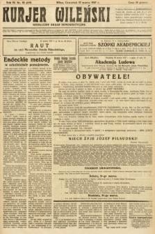 Kurjer Wileński : niezależny organ demokratyczny. 1927, nr62