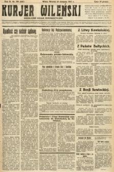 Kurjer Wileński : niezależny organ demokratyczny. 1927, nr196