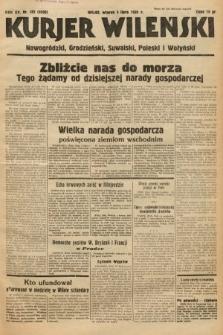 Kurjer Wileński, Nowogródzki, Grodzieński, Suwalski, Poleski i Wołyński. 1938, nr182