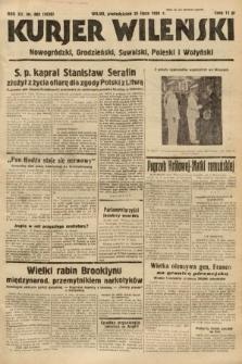 Kurjer Wileński, Nowogródzki, Grodzieński, Suwalski, Poleski i Wołyński. 1938, nr202