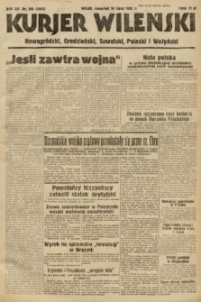 Kurjer Wileński, Nowogródzki, Grodzieński, Suwalski, Poleski i Wołyński. 1938, nr205