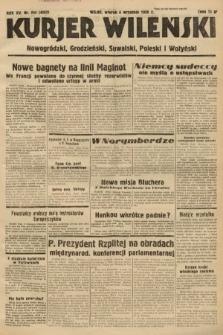 Kurjer Wileński, Nowogródzki, Grodzieński, Suwalski, Poleski i Wołyński. 1938, nr244