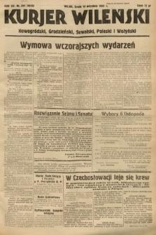 Kurjer Wileński, Nowogródzki, Grodzieński, Suwalski, Poleski i Wołyński. 1938, nr251