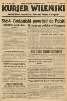 Kurjer Wileński, Nowogródzki, Grodzieński, Suwalski, Poleski i Wołyński. 1938, nr271