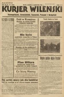 Kurjer Wileński, Nowogródzki, Grodzieński, Suwalski, Poleski i Wołyński. 1938, nr277